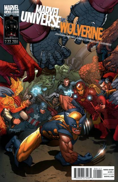Marvel Universe Wolverine (2011) Complete Bundle - Used
