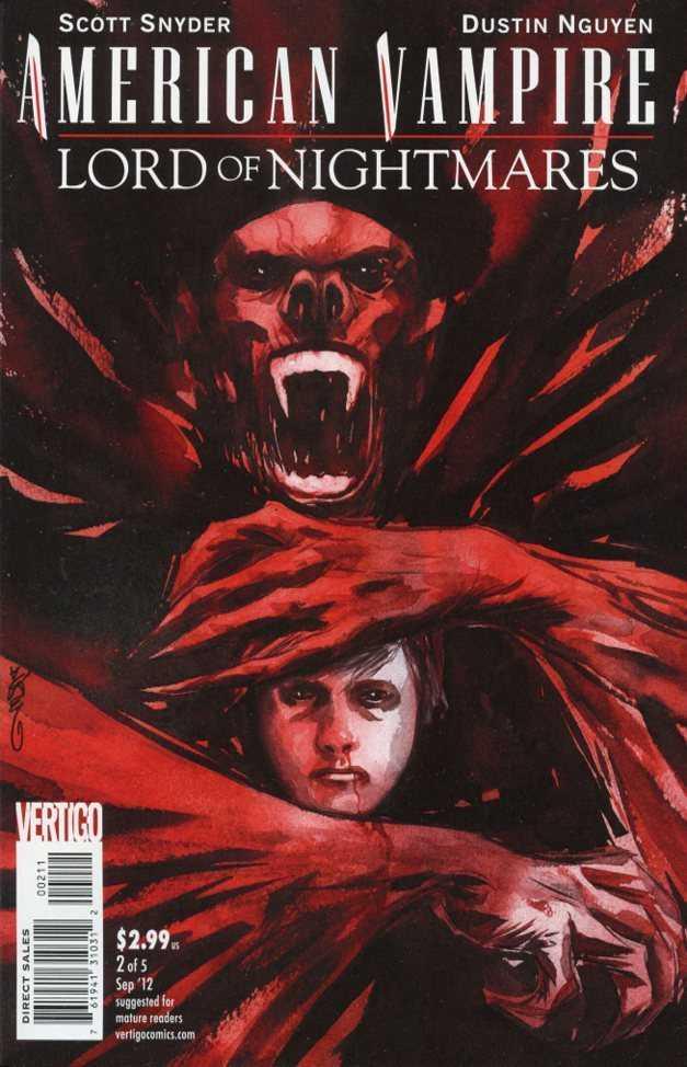 American Vampire Lord of Nightmares (2012) no. 2 - Used