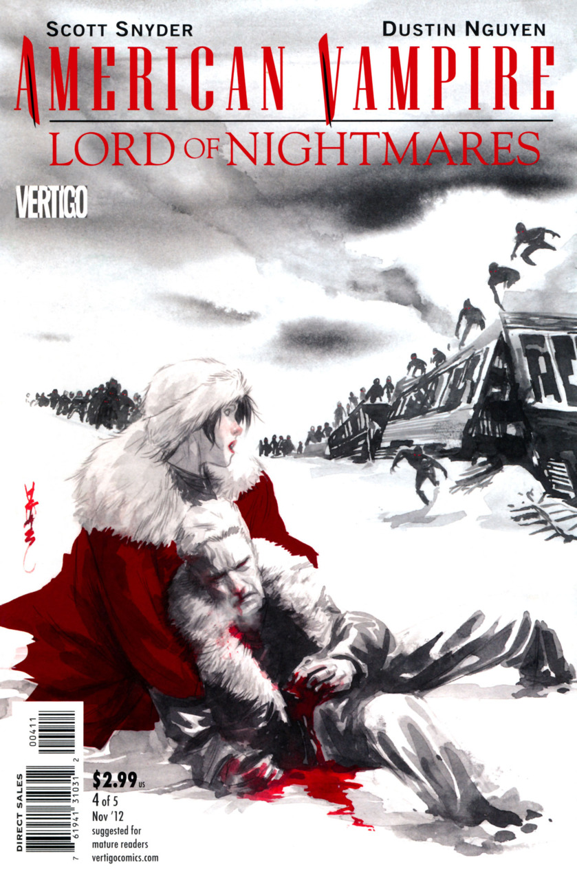 American Vampire Lord of Nightmares (2012) no. 4 - Used