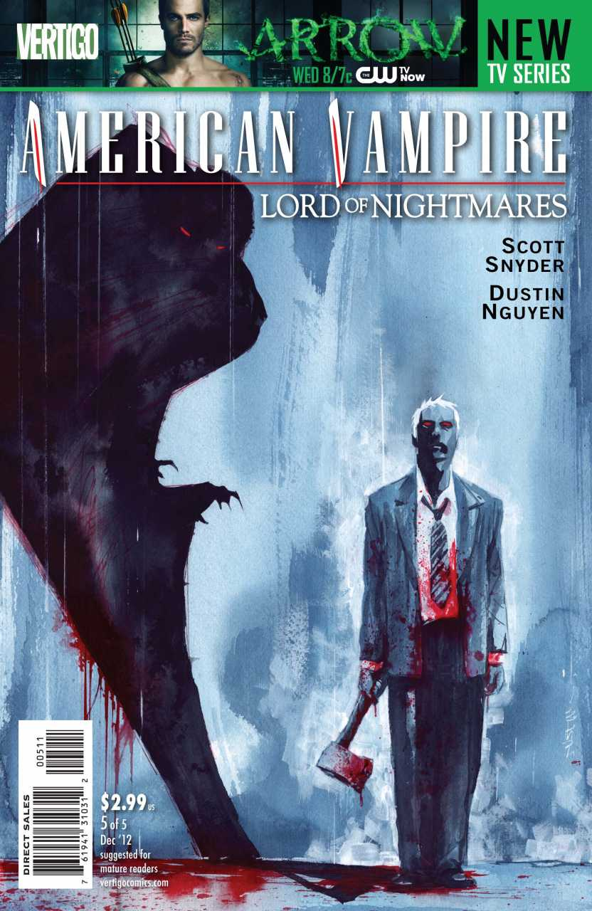 American Vampire Lord of Nightmares (2012) no. 5 - Used