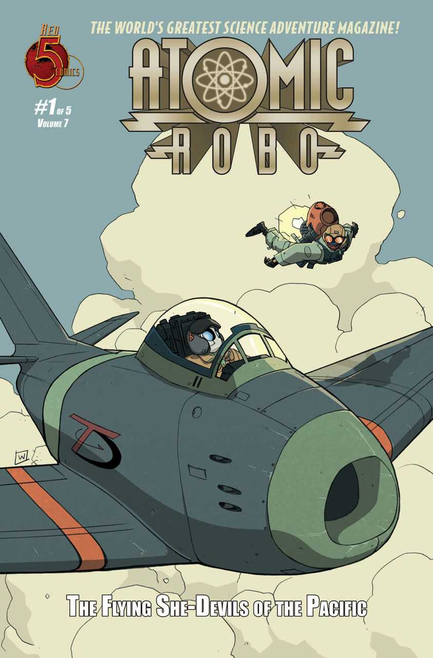 Atomic Robo The Flying She-Devils of the Pacific (2012) Complete Bundle - Used