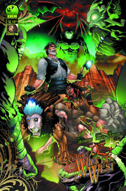 Legend of Oz Wicked West (2012) no. 11 - Used