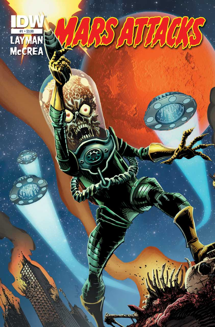 Mars Attacks (2012) Complete Bundle - Used