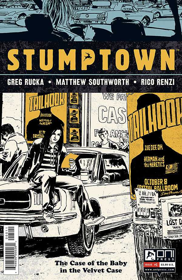 Stumptown: The Case of the Baby in the Velvet Case (2012) Complete Bundle - Used