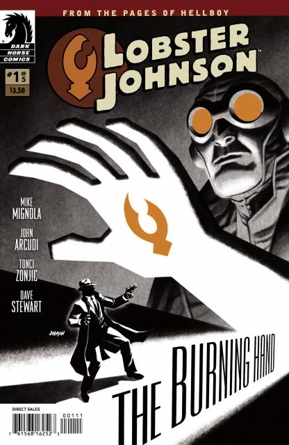 Lobster Johnson the Burning Hand (2011) Complete Bundle - Used