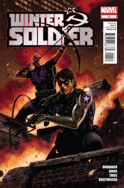 Winter Soldier (2012) no. 11 - Used