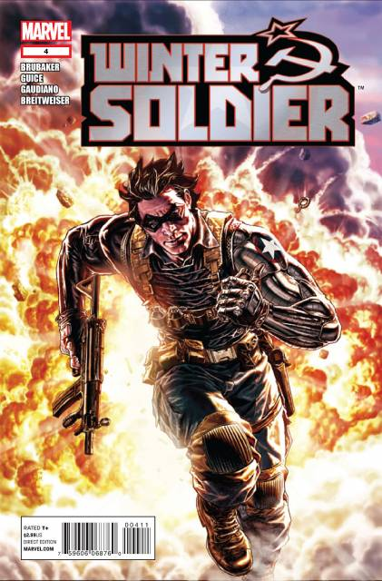 Winter Soldier (2012) no. 4 - Used