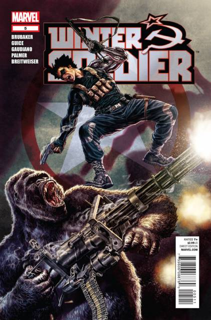 Winter Soldier (2012) no. 5 - Used