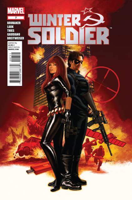 Winter Soldier (2012) no. 7 - Used
