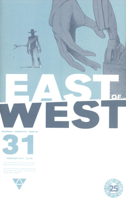 East of West (2013) no. 31- Used