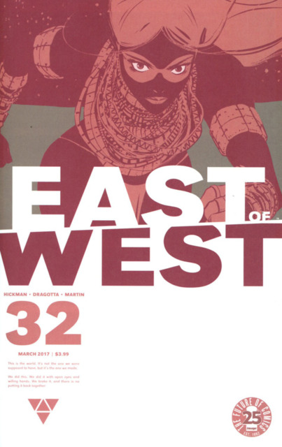 East of West (2013) no. 32 - Used