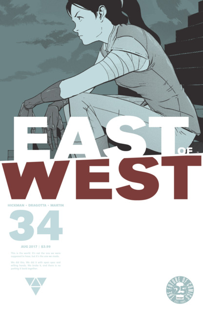 East of West (2013) no. 34 - Used