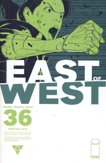 East of West (2013) no. 36 - Used
