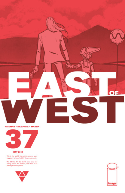 East of West (2013) no. 37 - Used