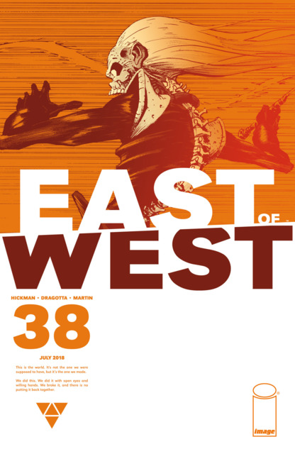 East of West (2013) no. 38 - Used