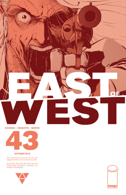 East of West (2013) no. 43 - Used