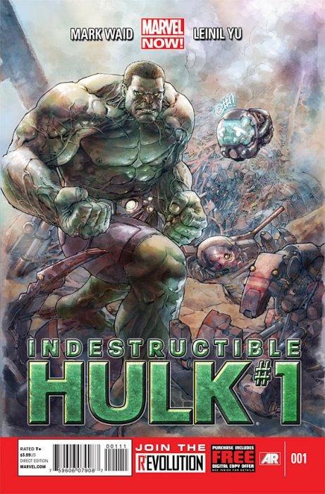 Indestructible Hulk (2012) no. 1 - Used
