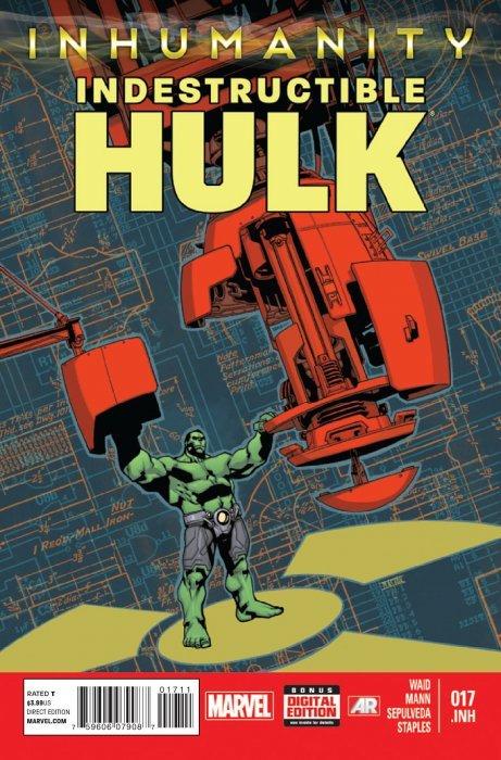 Indestructible Hulk (2012) no. 17 - Used
