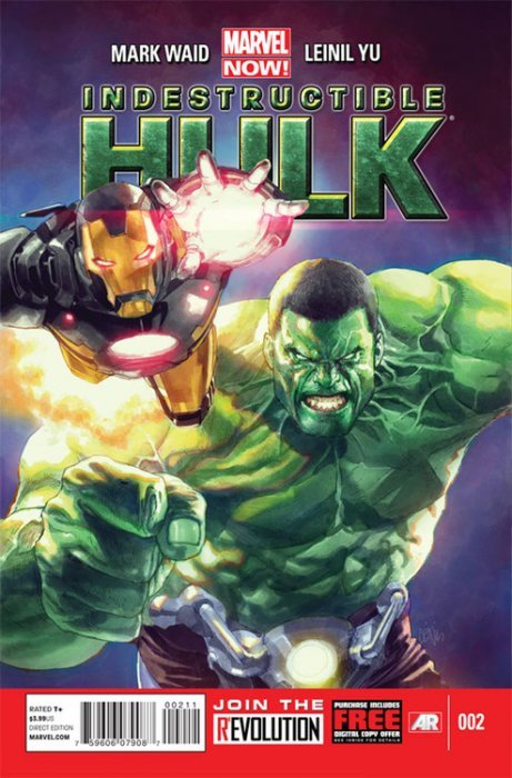 Indestructible Hulk (2012) no. 2 - Used