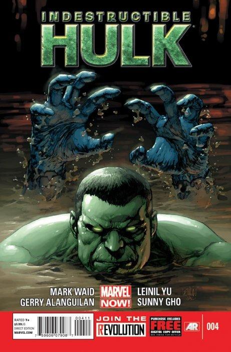Indestructible Hulk (2012) no. 4 - Used