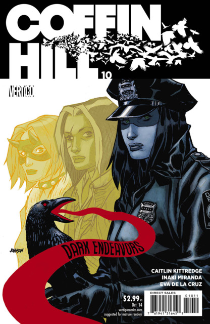 Coffin Hill (2013) no. 10 - Used