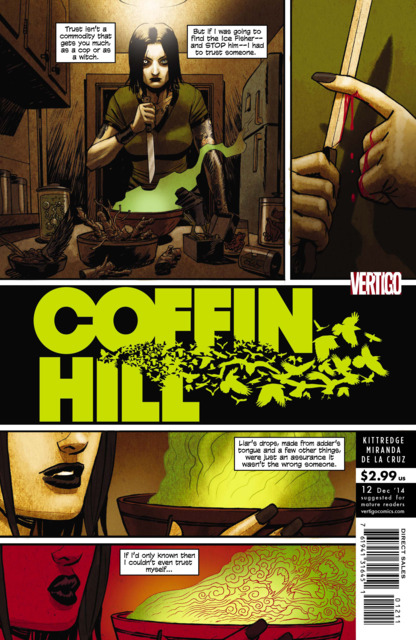 Coffin Hill (2013) no. 12 - Used