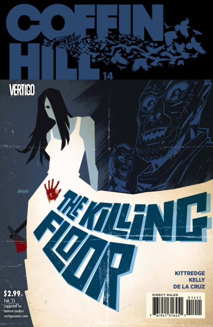 Coffin Hill (2013) no. 14 - Used