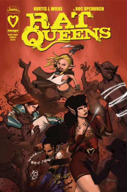 Rat Queens (2013) no. 3 - Used