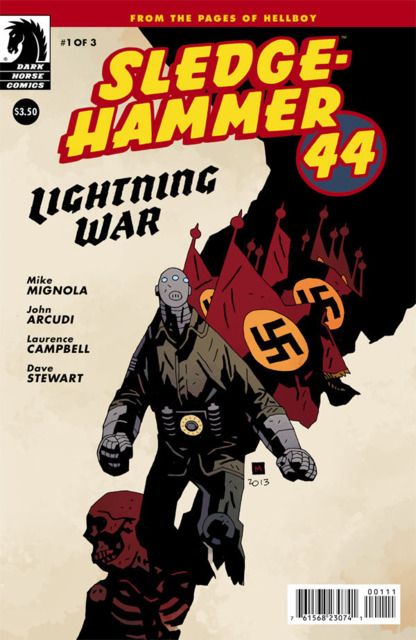 Sledge Hammer 44: Lightning War (2013) Complete Bundle - Used