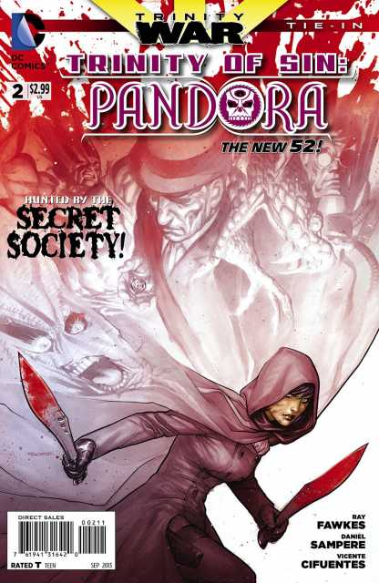 Trinity of Sin: Pandora (2013) no. 2 - Used