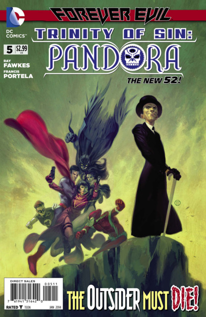Trinity of Sin: Pandora (2013) no. 5 - Used