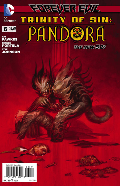 Trinity of Sin: Pandora (2013) no. 6 - Used