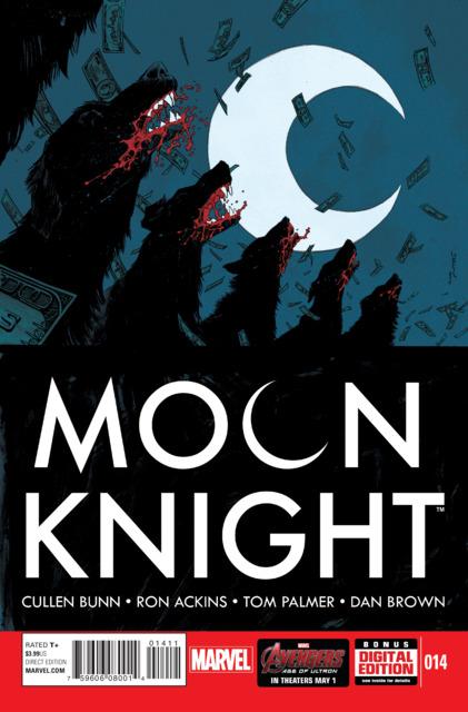 Moon Knight (2014) no. 14 - Used
