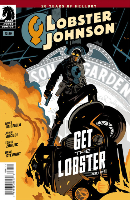Lobster Johnson Get the Lobster (2014) Complete Bundle - Used