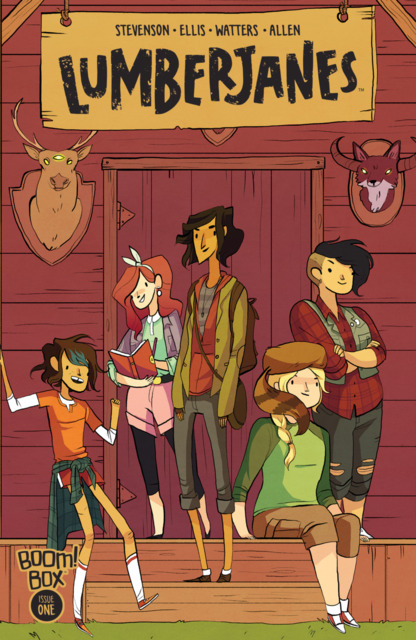 Lumberjanes (2014) no. 1 - Used