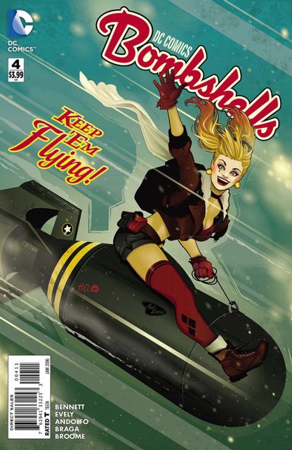 DC Comics Bombshells (2015) no. 4 - Used