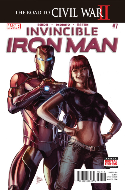 Invincible Iron Man (2015) no. 7 - Used