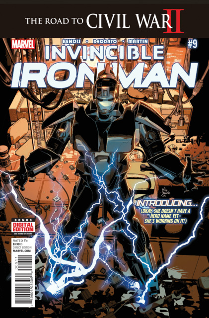 Invincible Iron Man (2015) no. 9 - Used