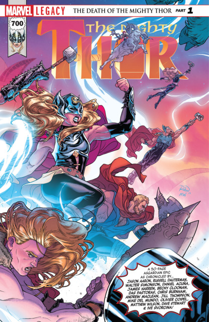 Mighty Thor (2017) no. 700 - Used