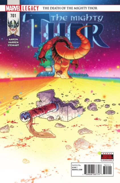 Mighty Thor (2017) no. 701 - Used