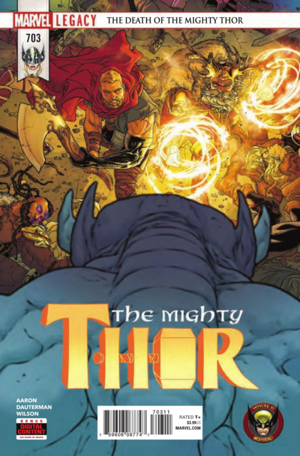 Mighty Thor (2017) no. 703 - Used