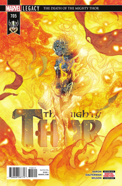 Mighty Thor (2017) no. 705 - Used