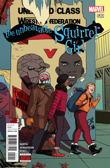 Unbeatable Squirrel Girl (2015 2nd Series) no. 12 - Used
