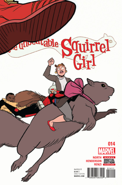 Unbeatable Squirrel Girl (2015 2nd Series) no. 14 - Used