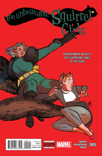 Unbeatable Squirrel Girl (2015 2nd Series) no. 5 - Used