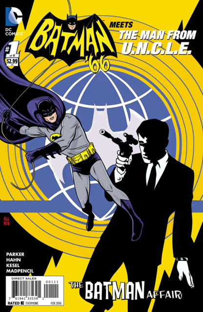 Batman 66 Meets the Man From UNCLE (2015) Complete Bundle - Used