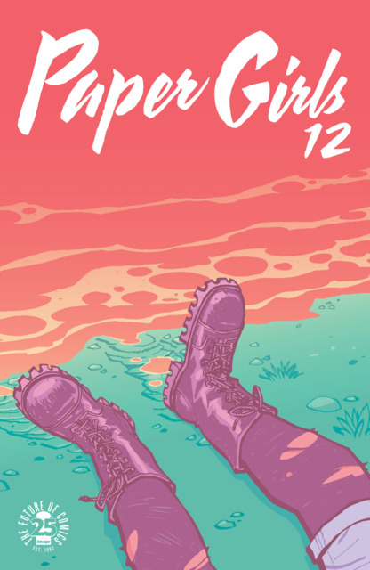 Paper Girls (2015) no. 12 - Used