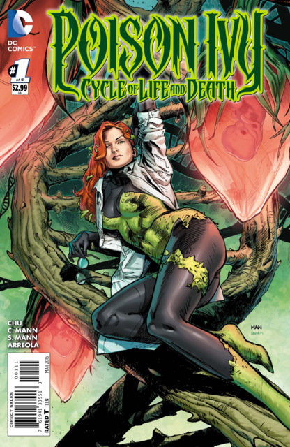 Poison Ivy Cycle of Life and Death (2015) Complete Bundle - Used