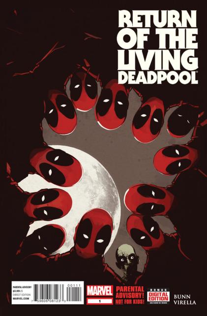 Return of the Living Deadpool (2015) Complete Bundle - Used