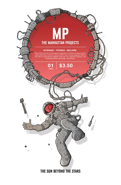 Manhattan Projects: The Sun Beyond the Stars (2015) Complete Bundle - Used